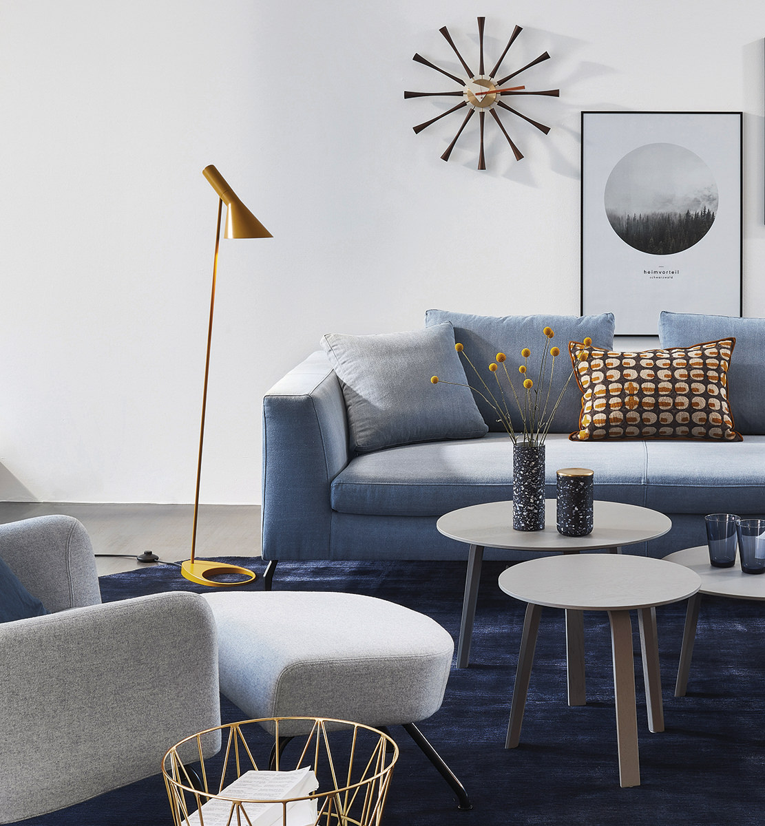 leuchte aj design arne jacobsen von louis poulsen. Black Bedroom Furniture Sets. Home Design Ideas
