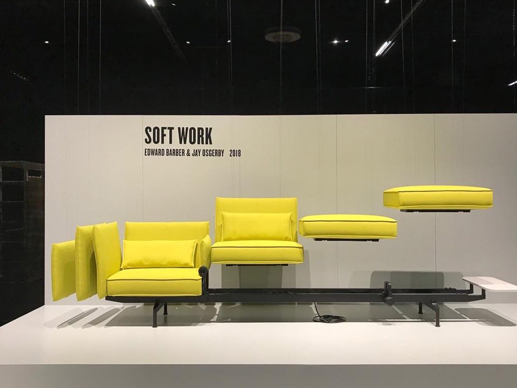 Vitra modulares Sofa Soft Work