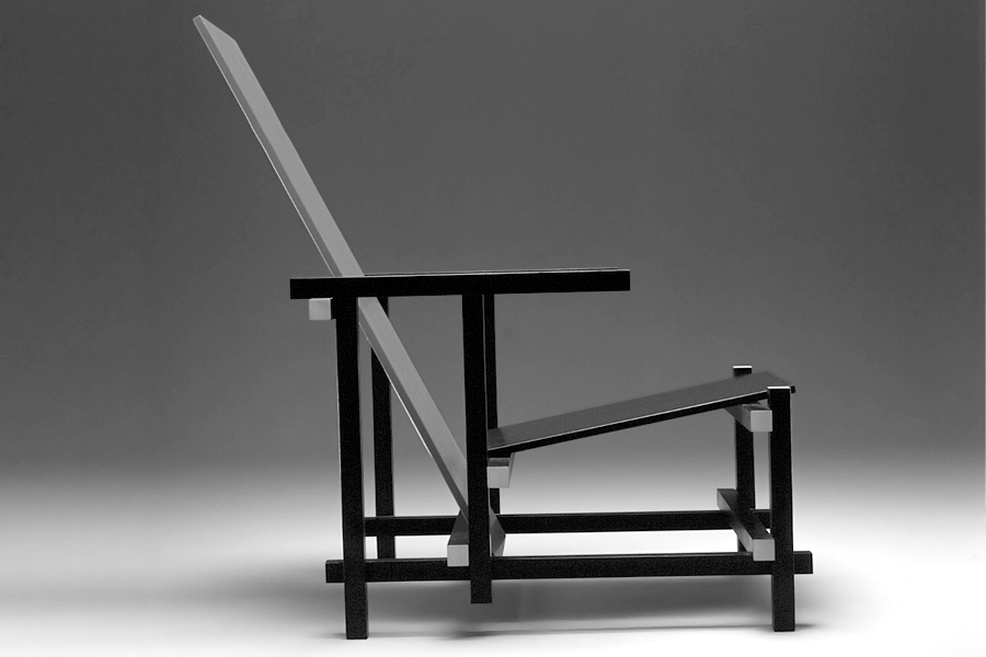 gerrit rietveld design m bel und designikonen. Black Bedroom Furniture Sets. Home Design Ideas