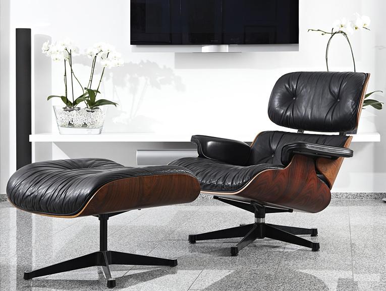 Original Eames Lounge Chair Von Ray Und Charles Eames