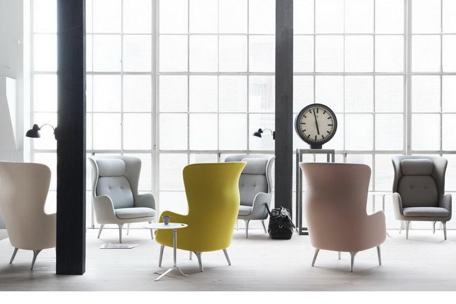 fritz hansen. Black Bedroom Furniture Sets. Home Design Ideas