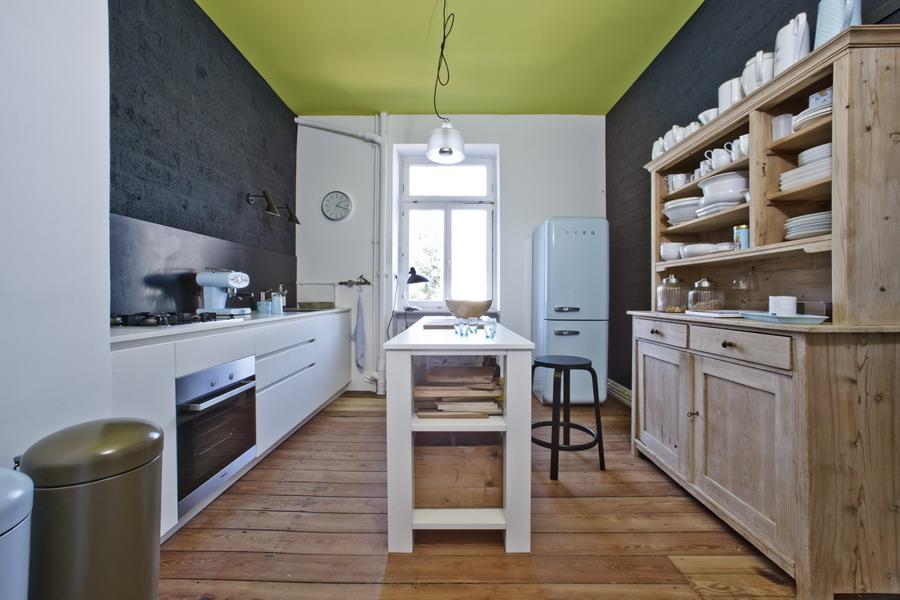 Einbauküchen planer  Charaktertypen - Stilmix aus alten Möbeln und modernen Klassikern ...