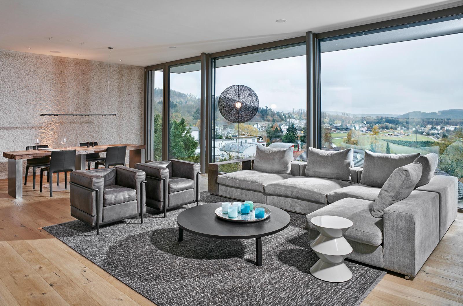 harmonisches gesamtkonzept als einrichtungsreferenz. Black Bedroom Furniture Sets. Home Design Ideas