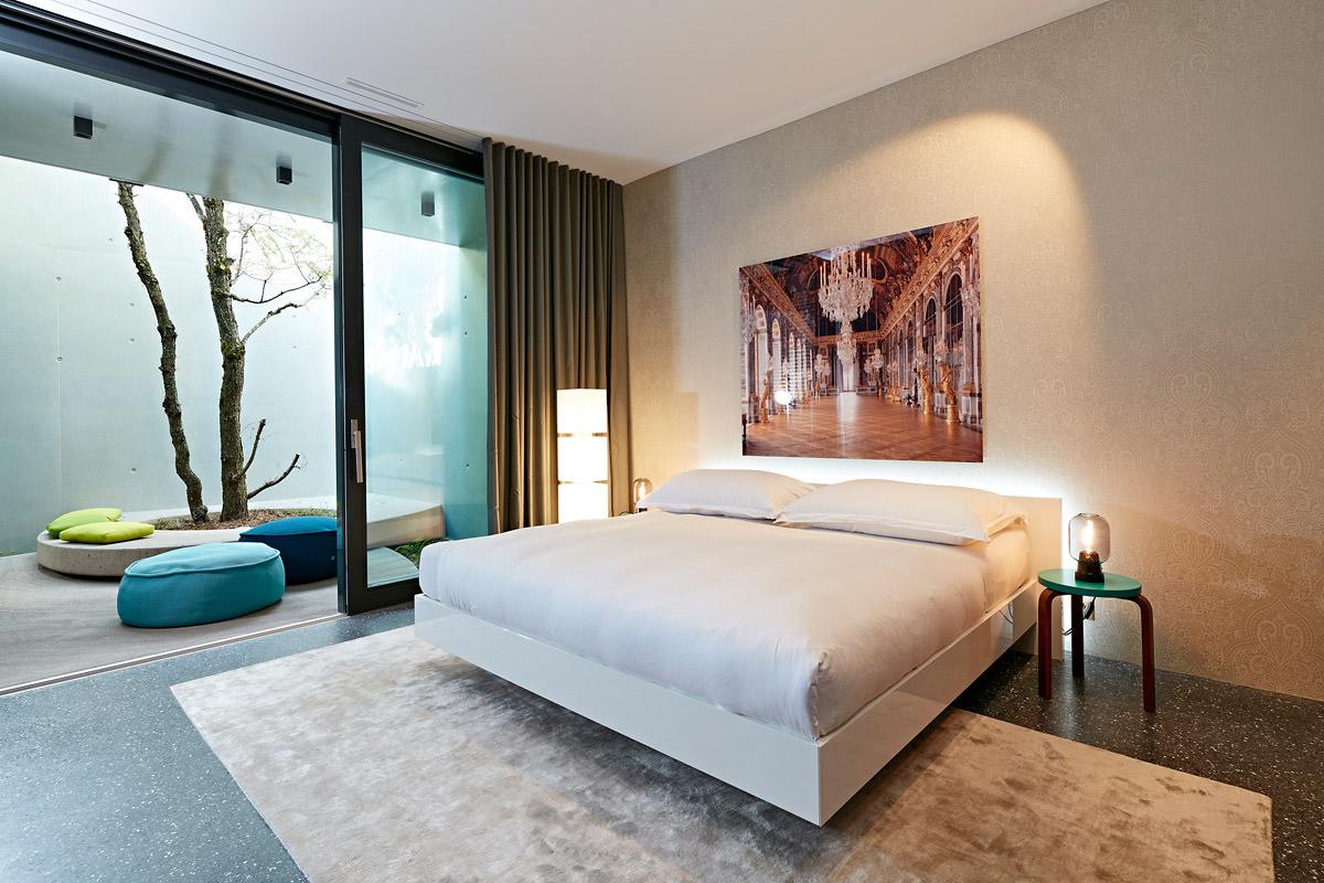 Wohnungseinrichtung kombiniert mit farbe form und material for Vitra design teppich